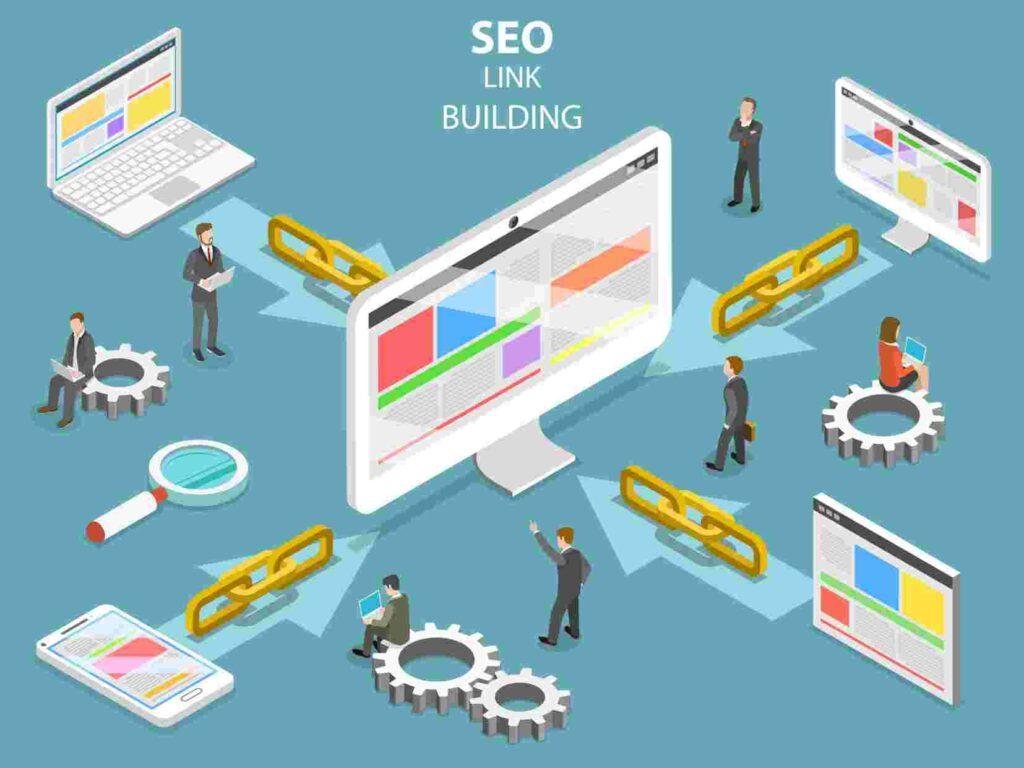 link building diagram